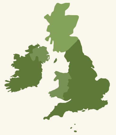 DustyDocs - English Parish Registers Online Plain England Map